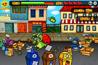 You have been hired by town council to pick up after this jerk on #EarthDay! #PrimaryGames #FlashGames