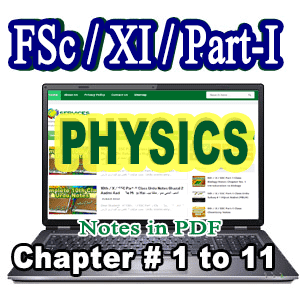 Free Download Complete FA/FSc Part-I 1st Year Notes All