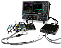 A representative test setup for physical-layer DDR testing