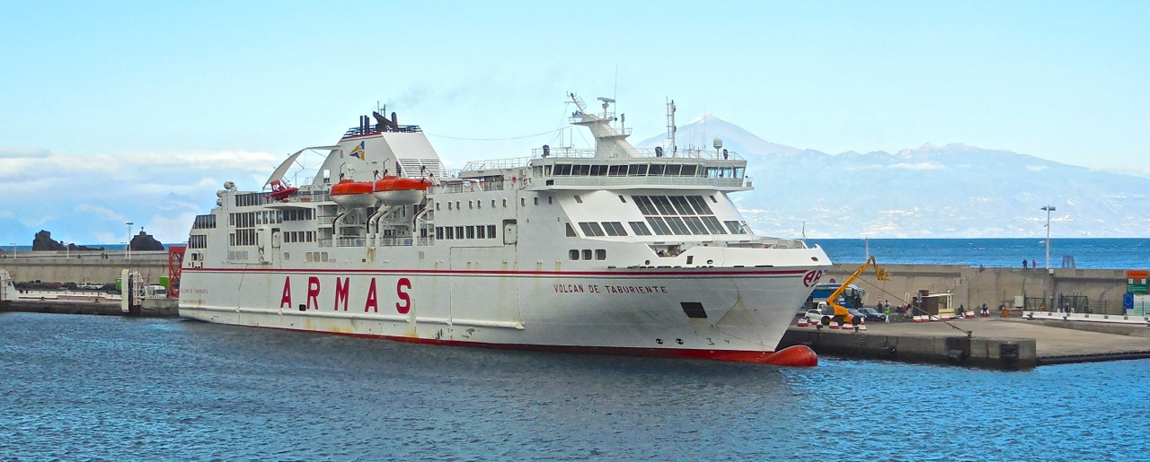Canary Island Ferry Timetable