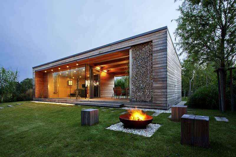 HOLIDAY HOUSE OF WOOD DESIGN WITH SOMETHING SPECIAL SOMETHING