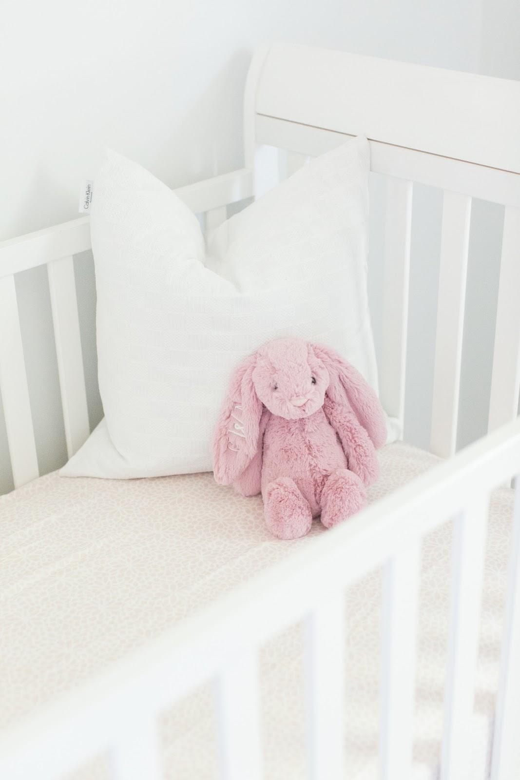 Bright, Delicate Baby Girl Nursery