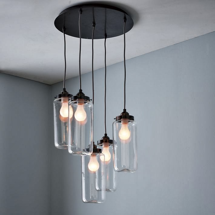Pendant Lights over the Dining Table | Norse White Design Blog