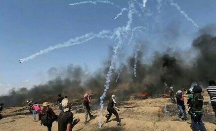 Israel, Gaza exchange fire