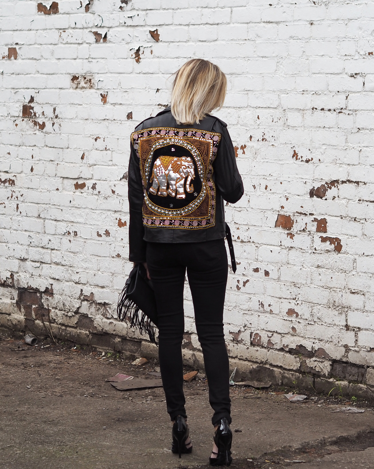 Rebel Rebel Elephant Jacket from Elsie and Fred - Rock On Holly