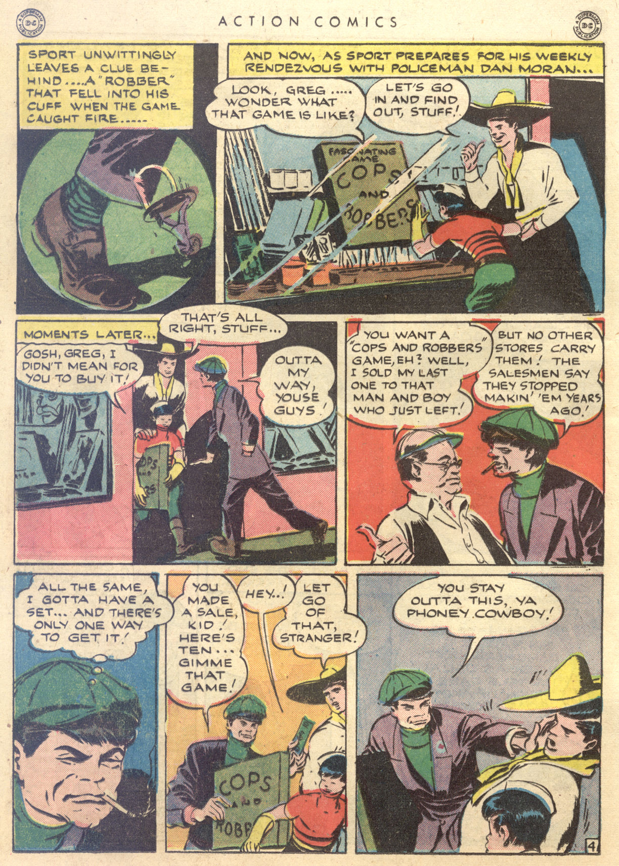 Read online Action Comics (1938) comic -  Issue #88 - 34