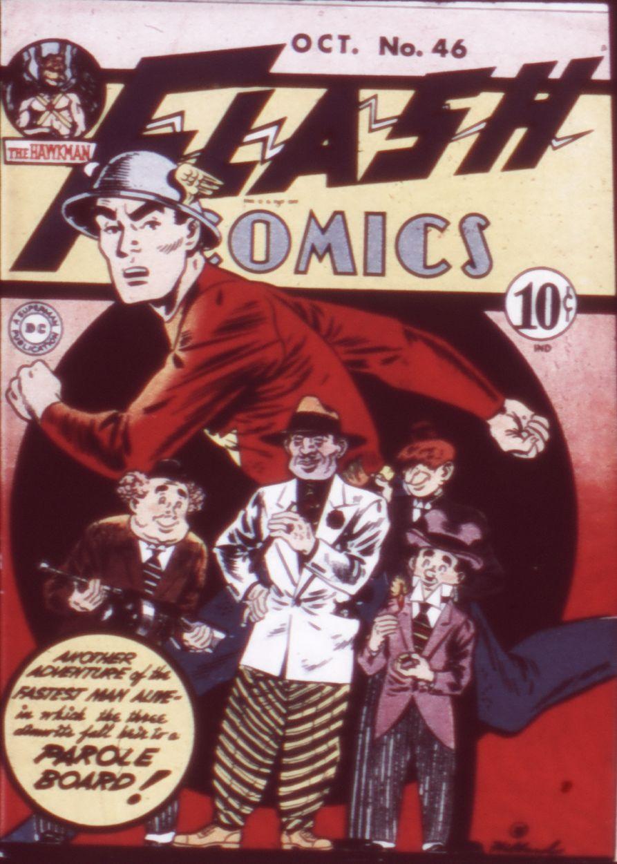 Flash Comics 46 Page 1