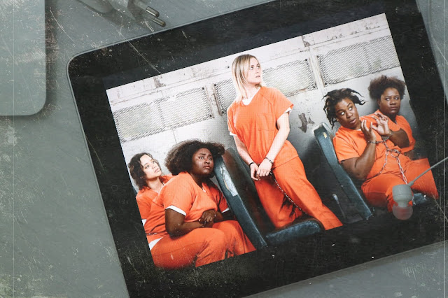 Daya-Taystee-Piper-Suzanne & Cindy les protagonistes de la 6e sixième saison d'Orange is the New Black