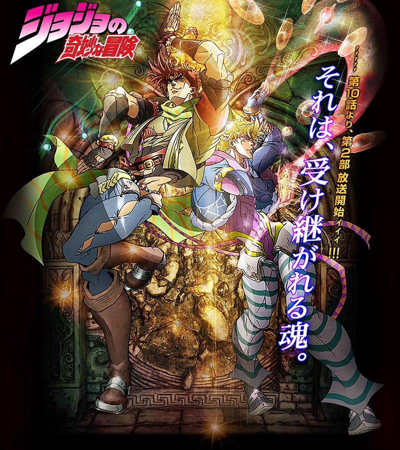 Jojo S Bizarre Adventure Part Ii Battle Tendency Anime