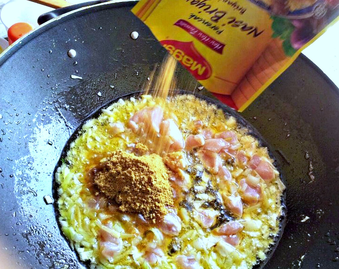 resepi ayam goreng pandan listen ss Resepi Nasi Beriani Ayam Goreng Berempah Enak dan Mudah