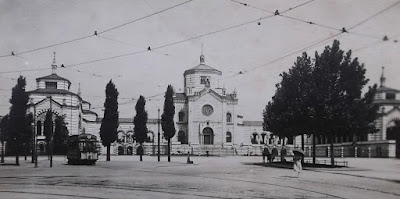 cimitero monumentale milano tram