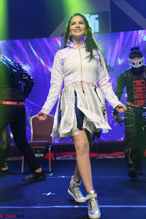 Sunny Leone Dancing on stage At Rogue Movie Audio Music Launch ~  190.JPG