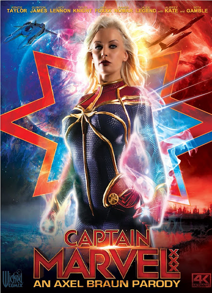 18+ Captain Marvel XXX: An Axel Braun Parody (2019) English 350MB HDRip 480p Free Download