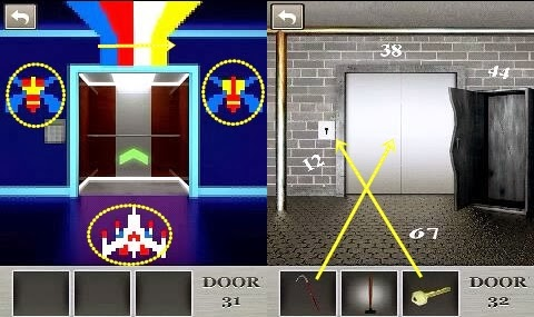 Best Game App Walkthrough 100 Locked Doors Level 31 32 33