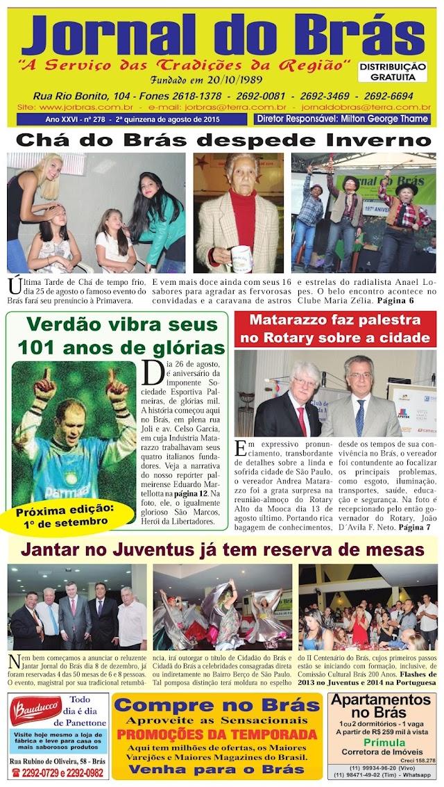Destaques da Ed. 278 - Jornal do Brás