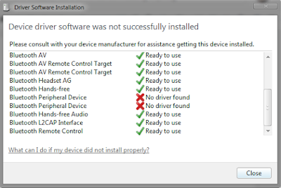 Install Bluetooth Driver Windows 7