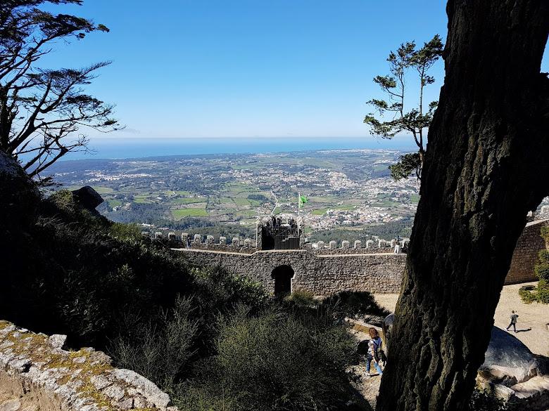 從摩爾人城堡望向大西洋