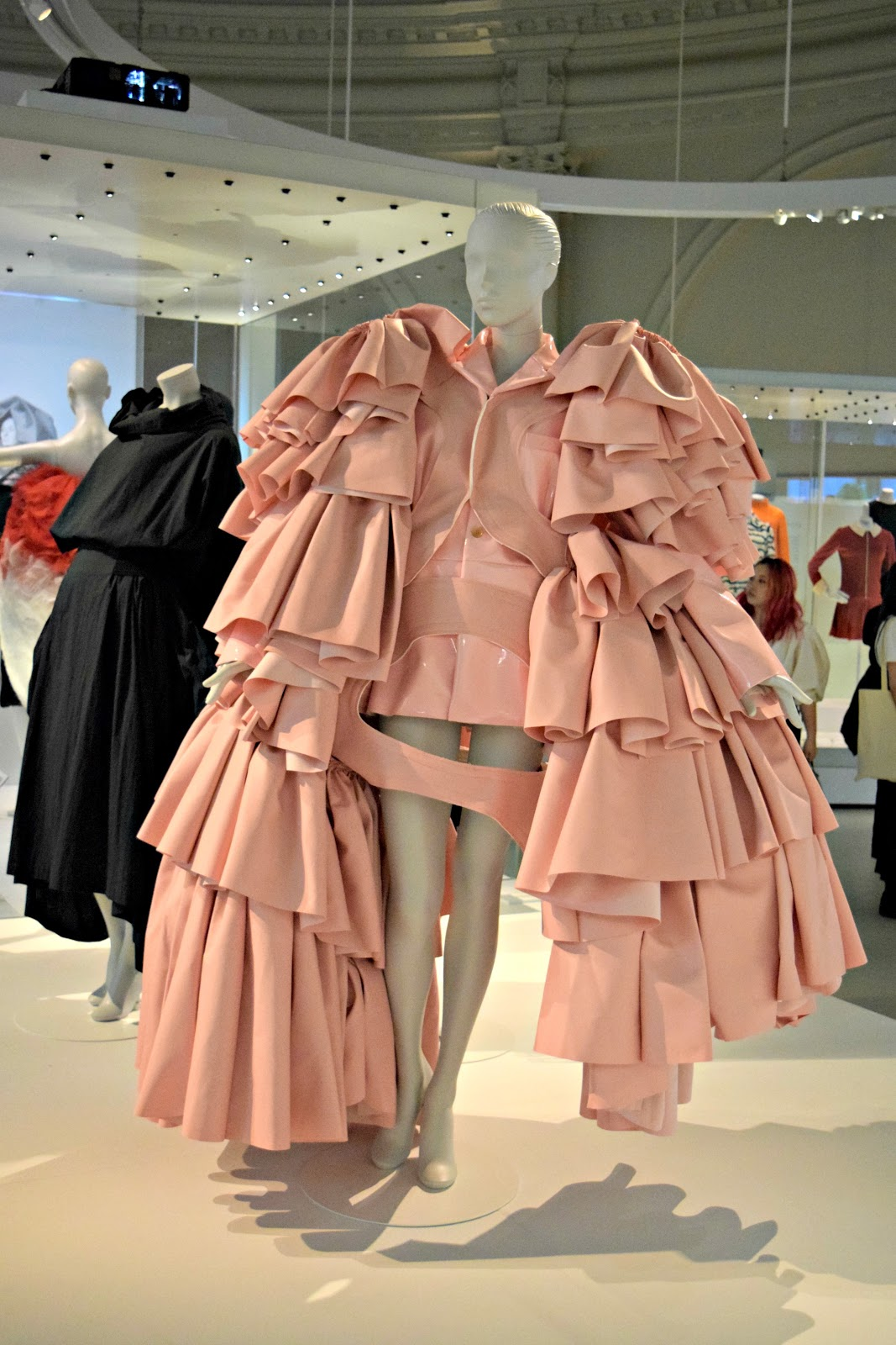 fashion exhibition london balenciaga influence