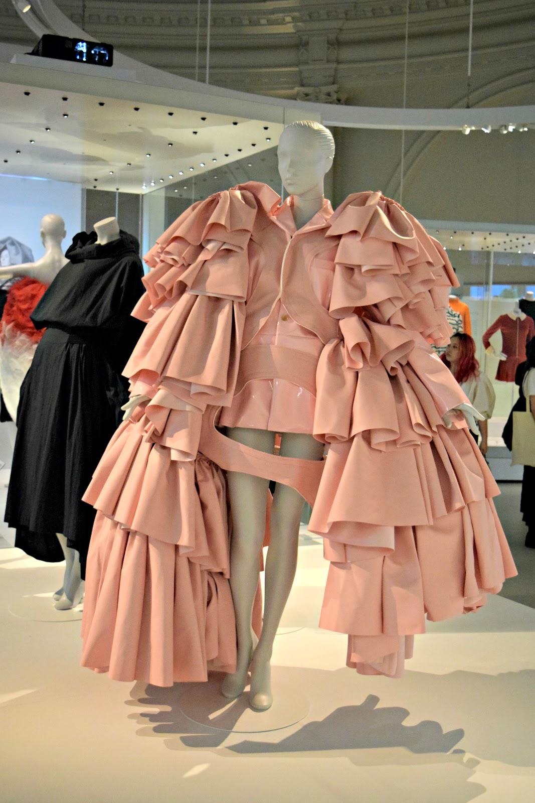 fashion exhibition london balenciaga influence