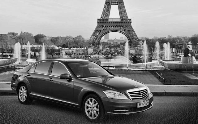 Chauffeur driven Professional Car Rental Servce in Paris