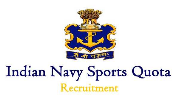 Indian Navy Sports Quota Entry, Sports Quota Sailors Entry Scheme