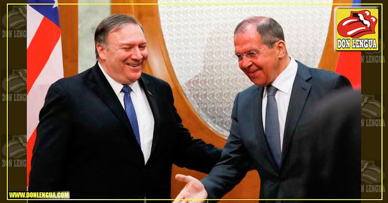 Rusia y Estados Unidos se dan las manos y esperan una reconciliación - Maduro asustado!