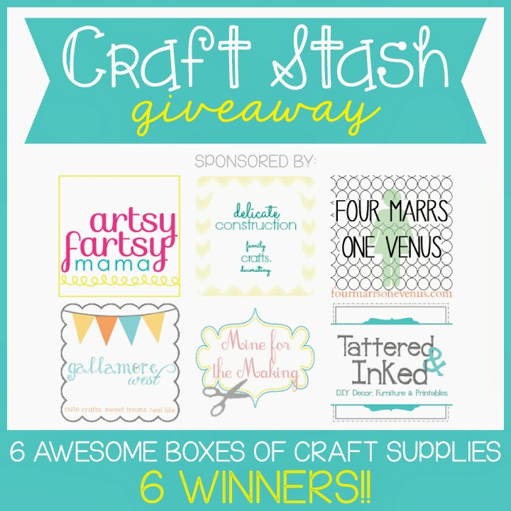 Craft Stash Giveaway - 6 Winners!! at artsyfartsymama.com