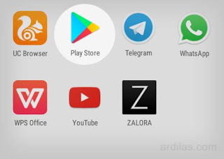 Ikon aplikasi Play Store - Cara Menginstall Aplikasi Software Instagram App For Android