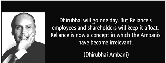 Dhirubhai Ambani quote