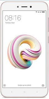 MI 5a 32gb rom rose gold mobile
