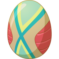 Appearance of DéjàVu Dragon when egg