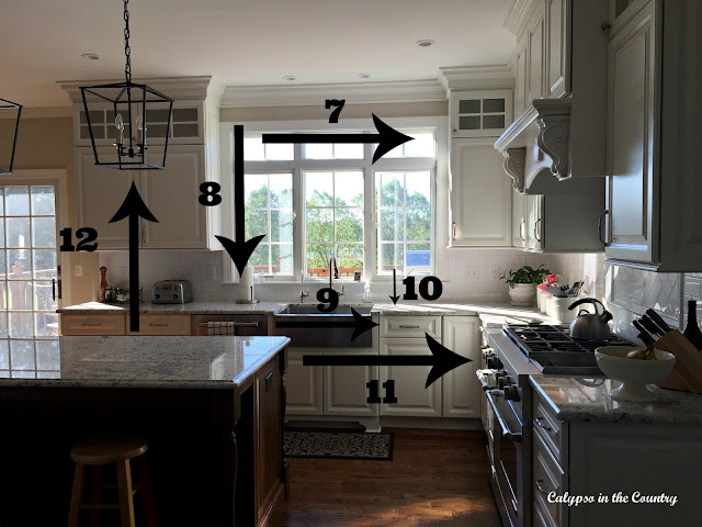 Kitchen Measurements after remodel