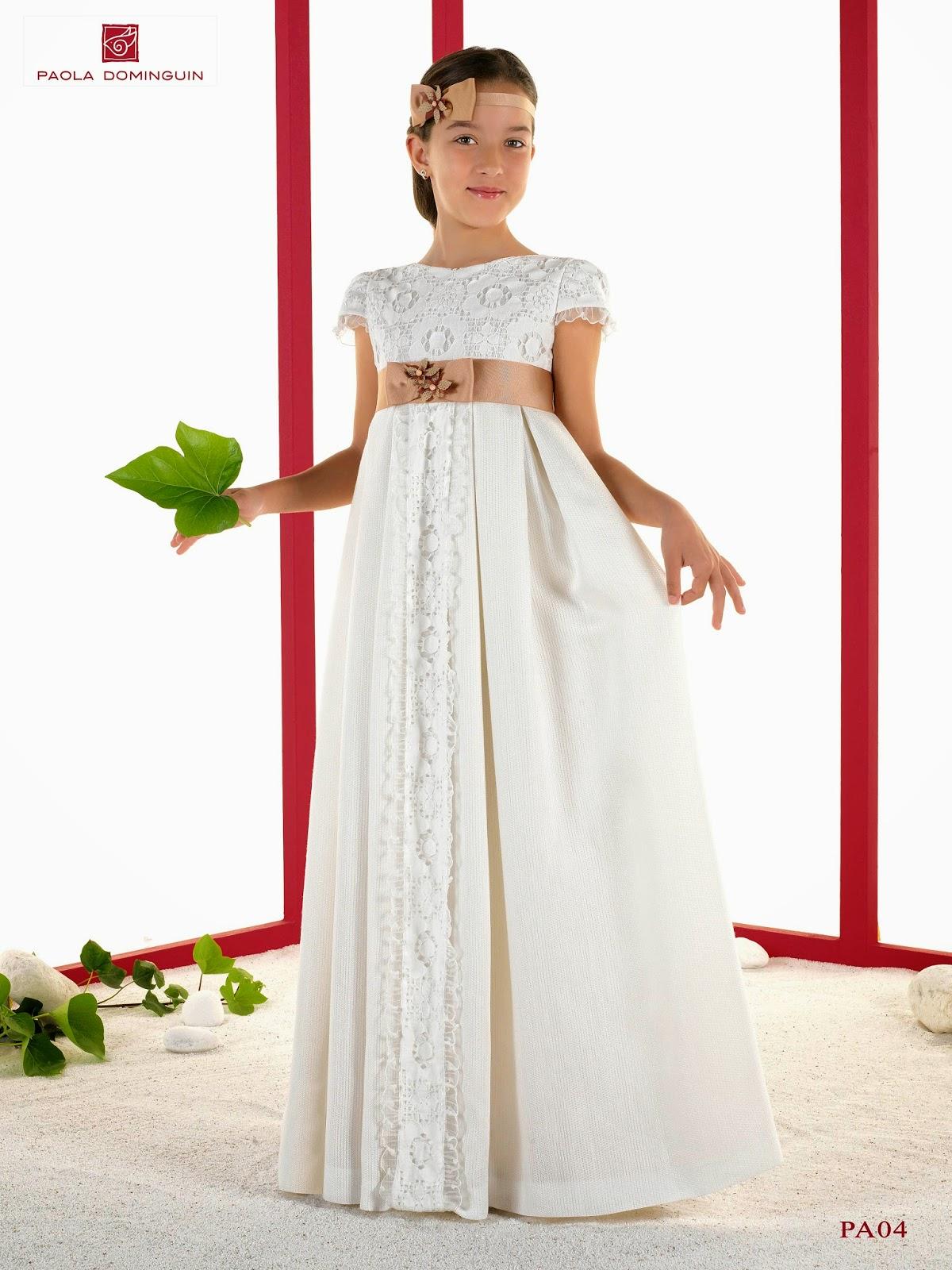 f7916e2a83 ... de la moda que quieren escapar de los convencionalismos disfrutando en  un día especial e inolvidable de un vestido de comunión único. GIANCARLO  NOVIAS