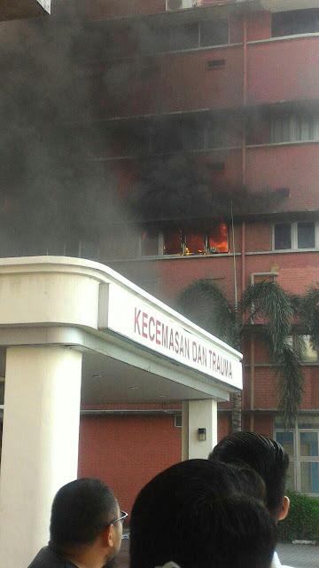Kebakaran di Hospital Sultanah Aminah