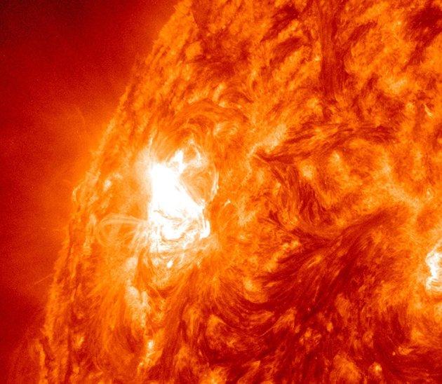 Amazing solar storms of the sun - Oddetorium