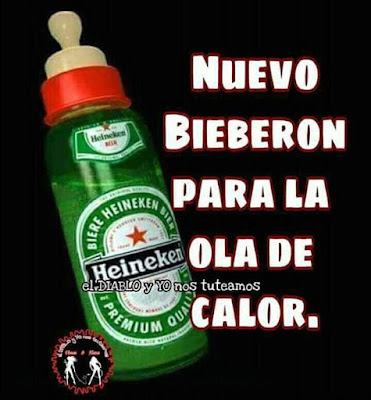 Biberón, ola de calor, Heineken