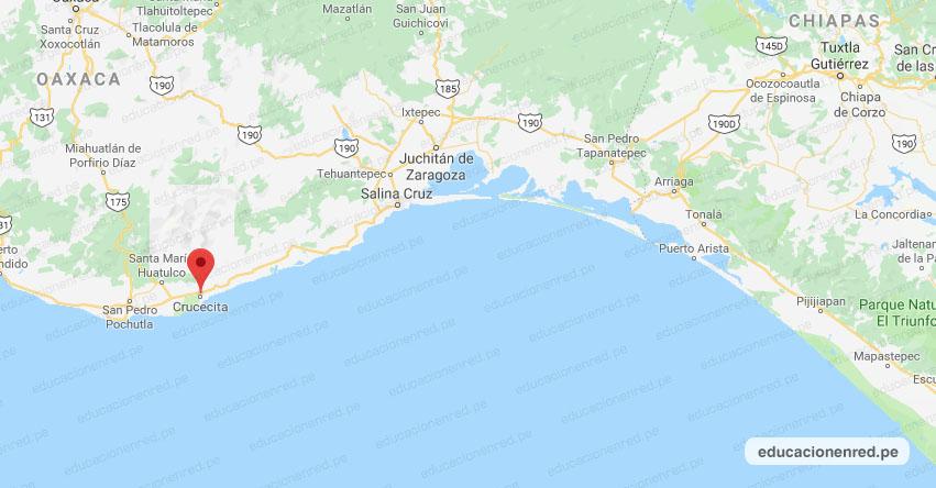 Temblor en México de Magnitud 4.1 (Hoy Jueves 14 Mayo 2020) Sismo - Epicentro - Crucecita - Oaxaca - OAX. - SSN - www.ssn.unam.mx