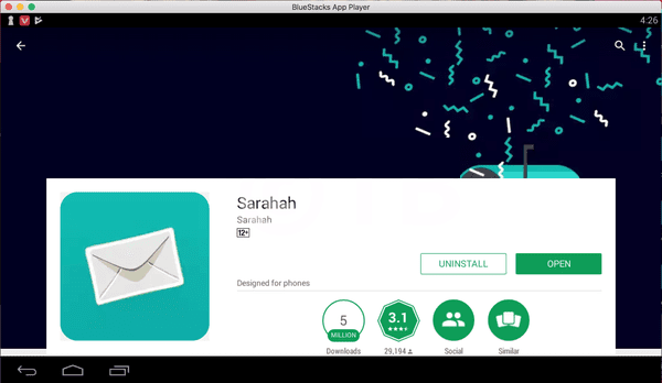 Cara Instal Sarahah untuk PC / Laptop Windows /Mac 7