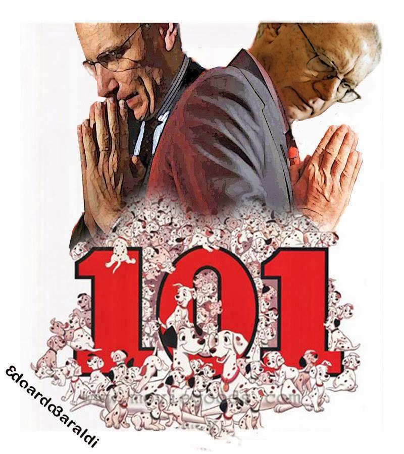 spirito critico la carica dei 101 senatori pd alla carta