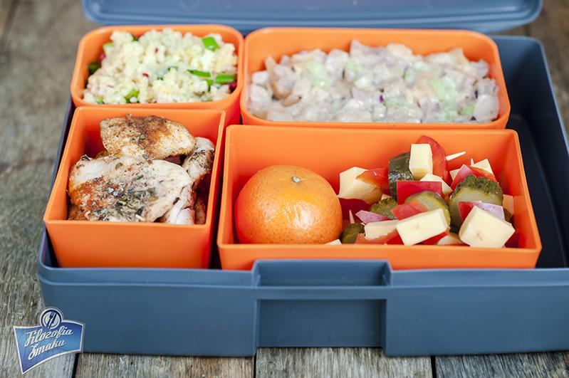 Pudełko śniadaniowe Laptop Lunches