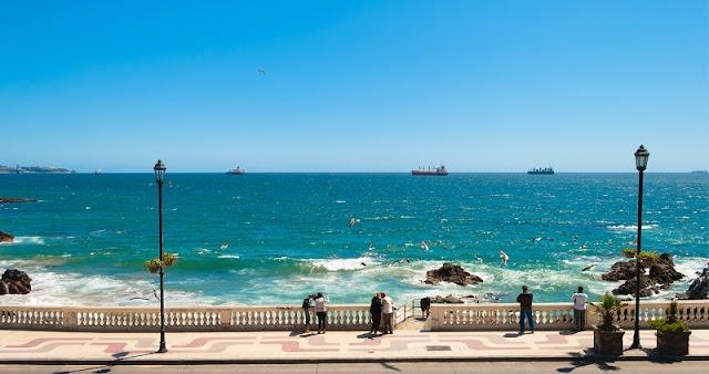 Diferença de fuso horário mês por mês em Viña del Mar
