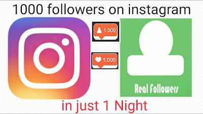 Cara Mendapatkan 1000 Followers Instagram GRATIS