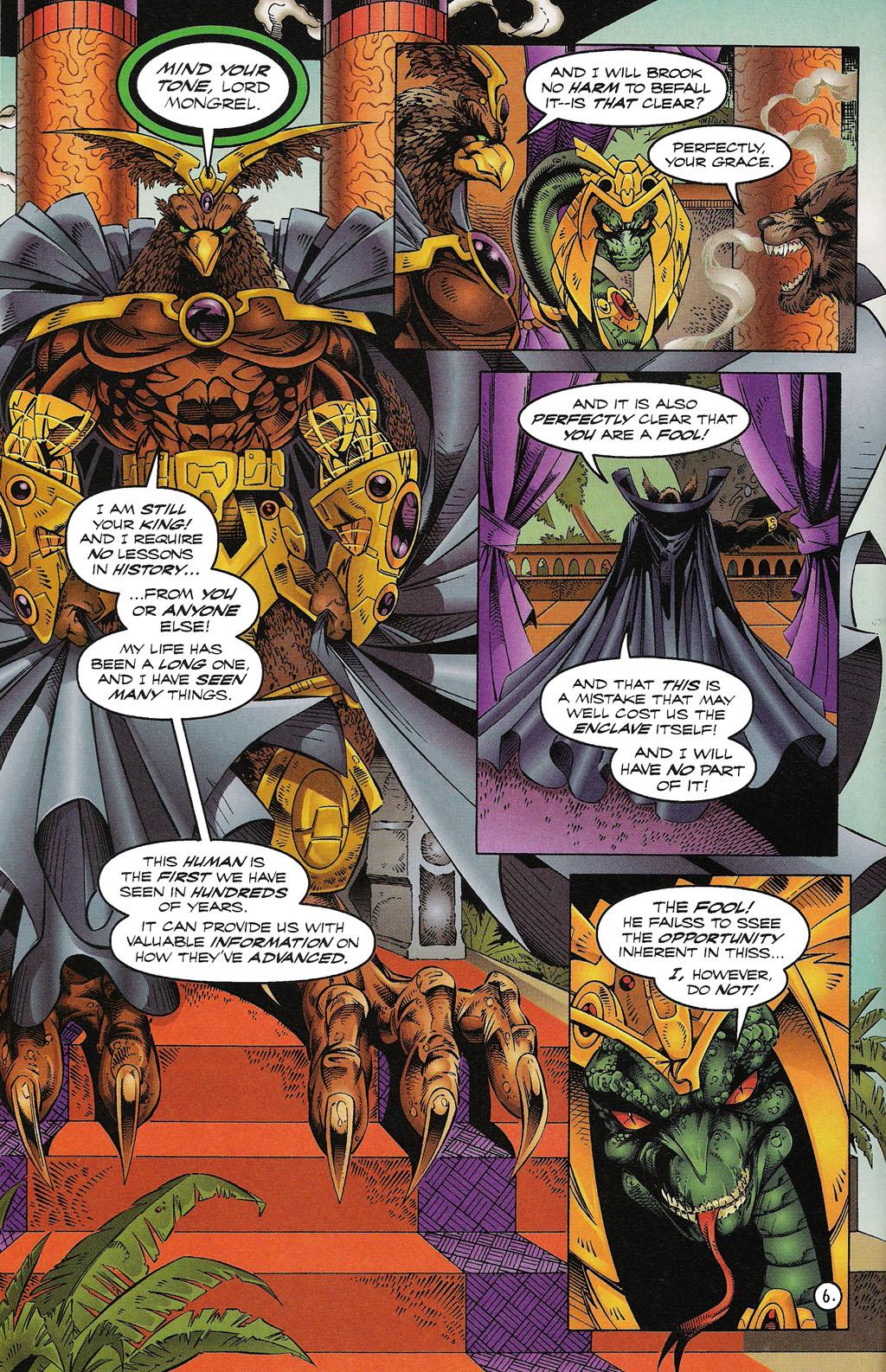 Read online ShadowHawk comic -  Issue #15 - 7