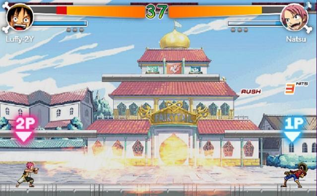 One Piece vs Fairy Tail 1.1 - Game Fairy Tail- TaiChPlayVN