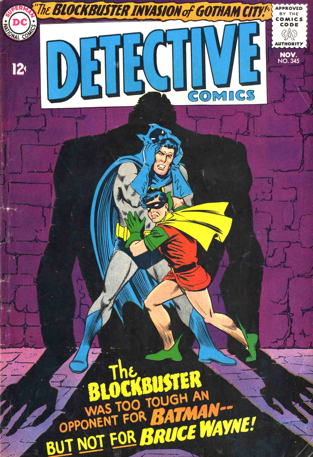 Detective Comics (1937) 345 Page 0