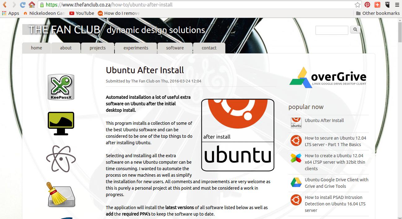 install chrome ubuntu server