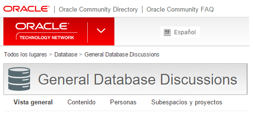 Oracle Community Directory
