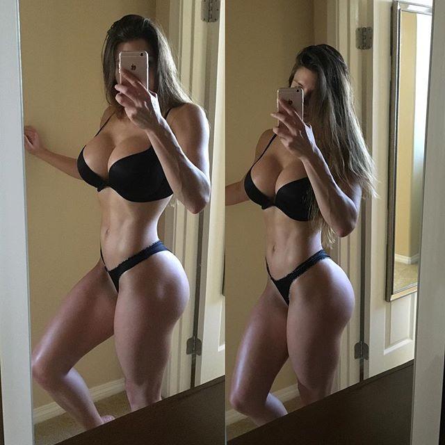 Female Fitness Model BRITTANY PERILLE