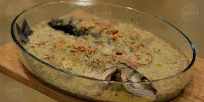 سمكة حارة لبنانية