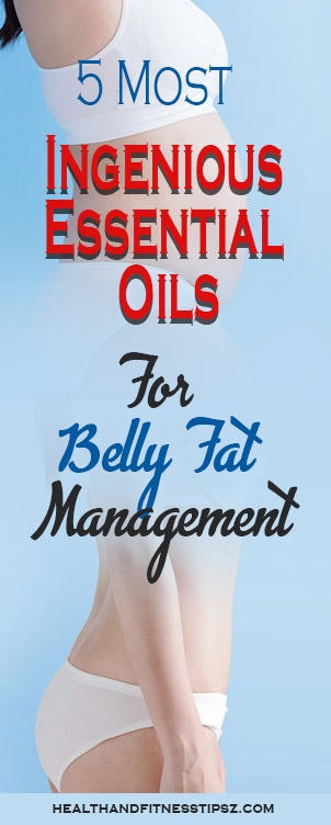 essential oils for belly fat